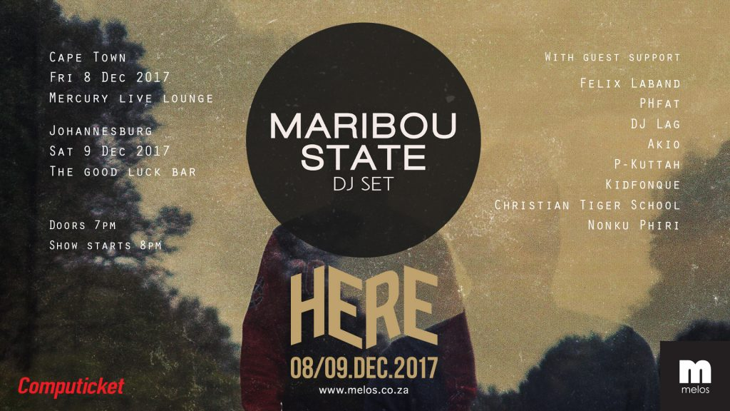 MARIBOU STATE LIVE IN SOUTH AFRICA