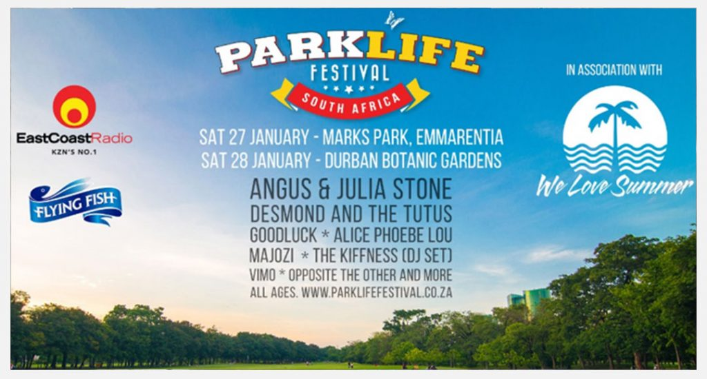 HERE'S THE LINE-UP FOR PARKLIFE JOBURG & DURBAN