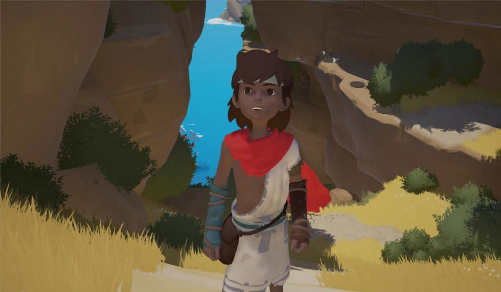 NEW PUZZLE ADVENTURE GAME REMINDS US A LOT OF JOURNEY